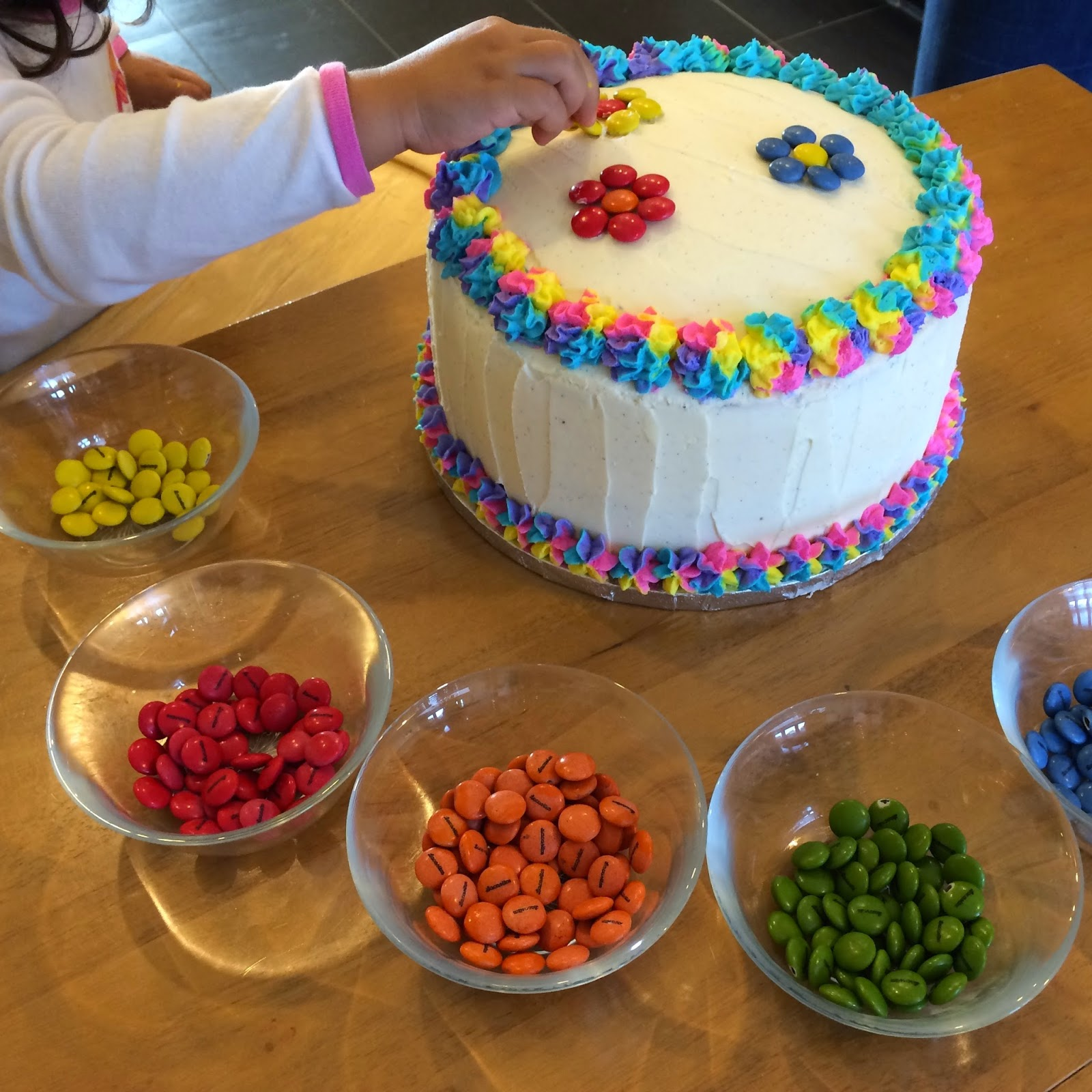 Elaine S Sweet Life Rainbow Cake