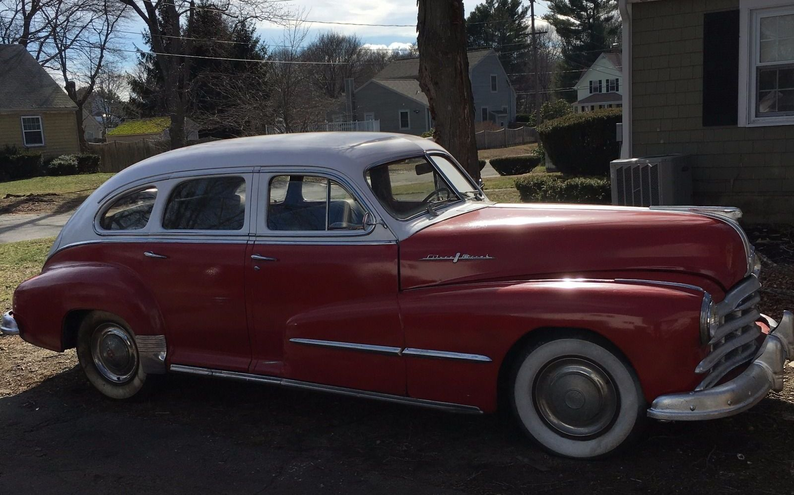 All american classic cars 1948 pontiac streamliner deluxe for 1948 ford 2 door coupe