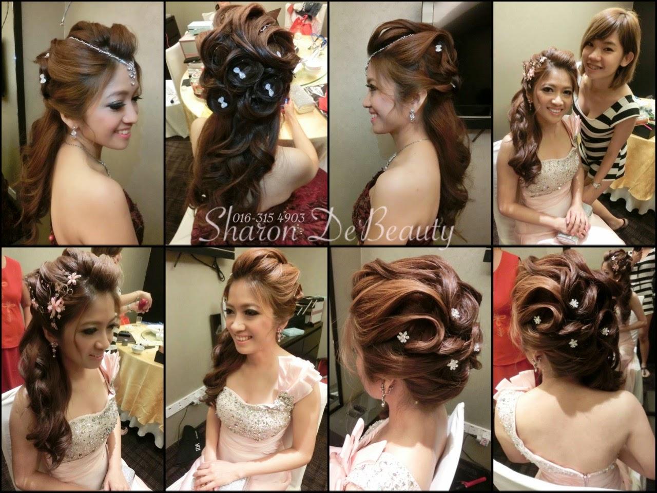 small roses hair