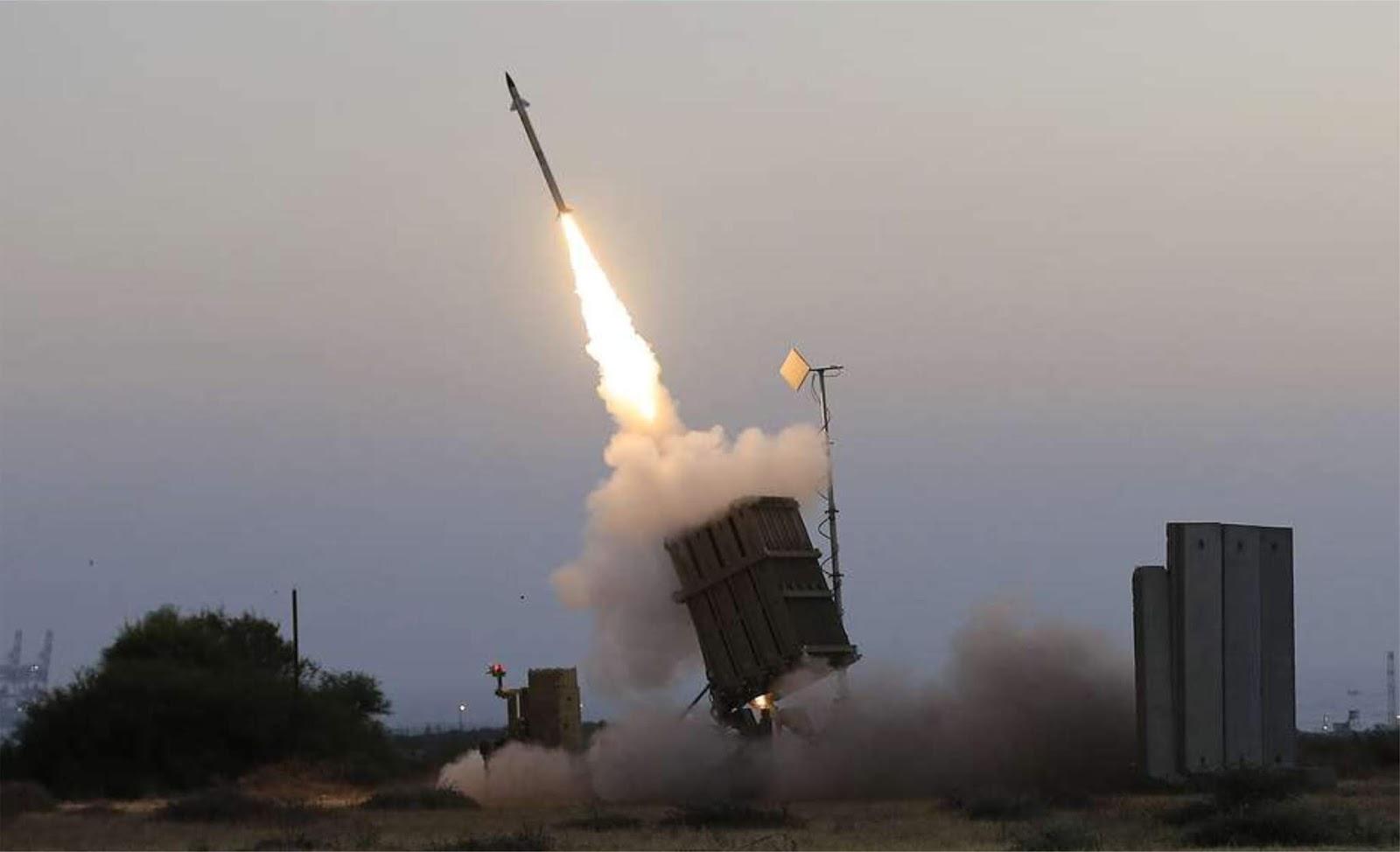 Efektivitas Iron Dome Israel dipertanyakan