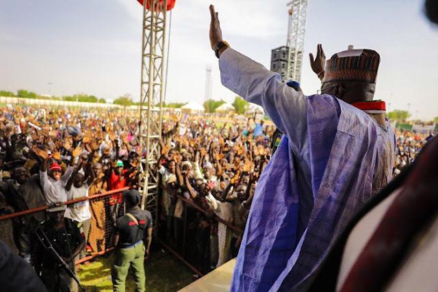 Atiku promises to restore peace to Borno