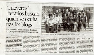 Noticia jueveros/as
