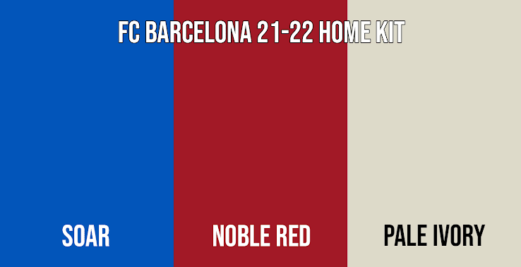 Official Colors Leaked Fc Barcelona 21 22 Home Kit Design Leaked Footy Headlines