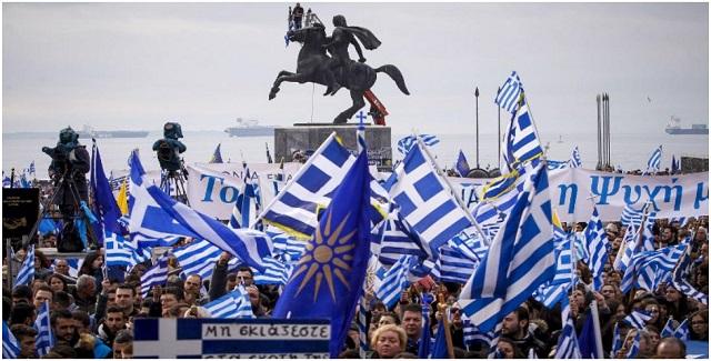 Σκοπιανό: Νέα παλλαϊκά συλλαλητήρια σε ολόκληρη τη χώρα