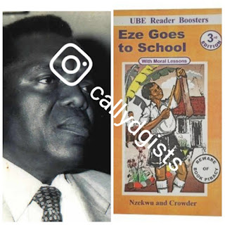 Today, The Author Of 'EZE GOES TO SCHOOL' Died