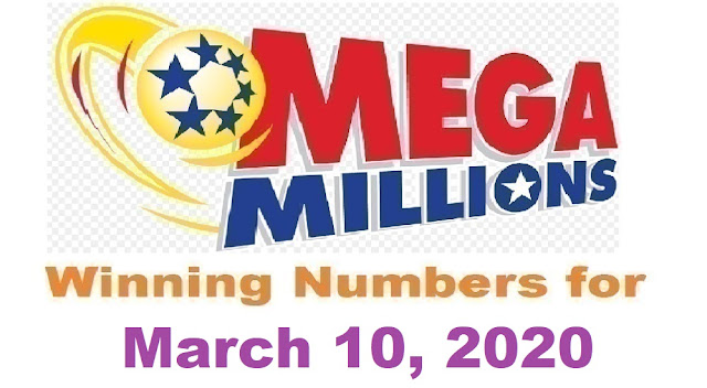 Mega Millions Winning Numbers for Tuesday, March 10, 2020