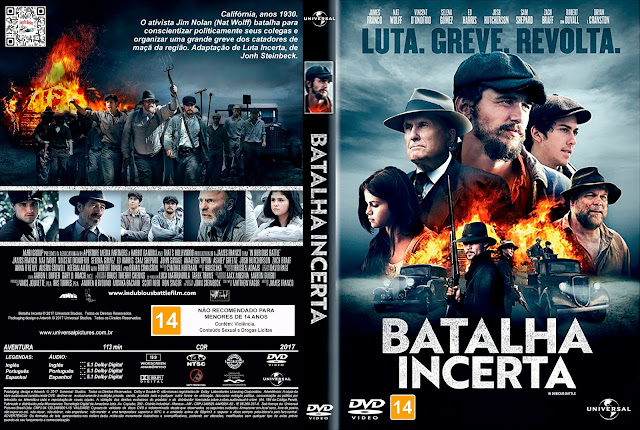 Capa DVD Batalha Incerta [Exclusiva]