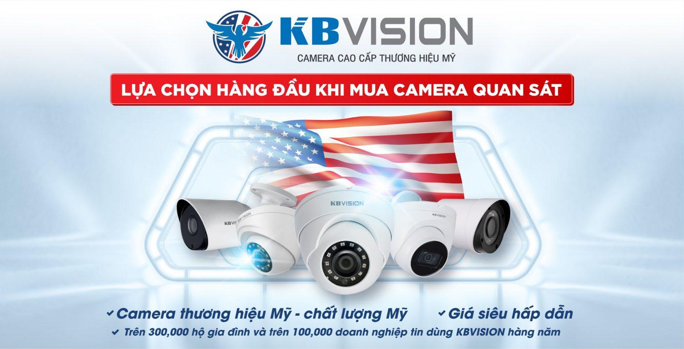 Camera KBVISION Bến Tre › Camera chính hãng bảo hành 24 tháng