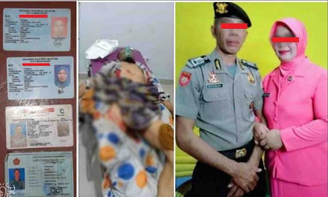 Polisi Nekat Tembak Istri dan TNI Karena Diduga Selingkuh