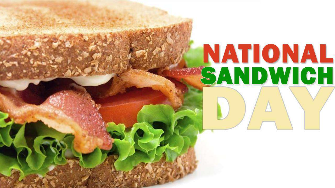 National Sandwich Day Wishes Images download