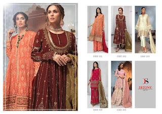 Deepsy Gulbano vol 14 Pakistani suits Catalog
