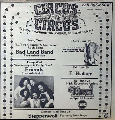 Circus Circus band line up