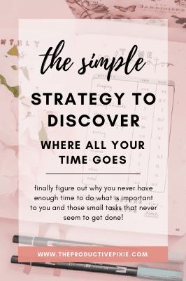 The Simple Strategy to Discover Where Your Time Goes