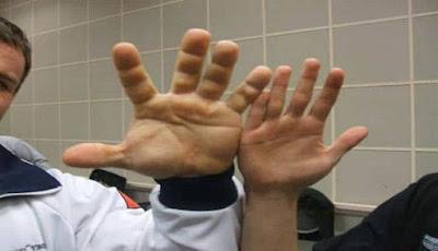 Ukuran telapak tangan
