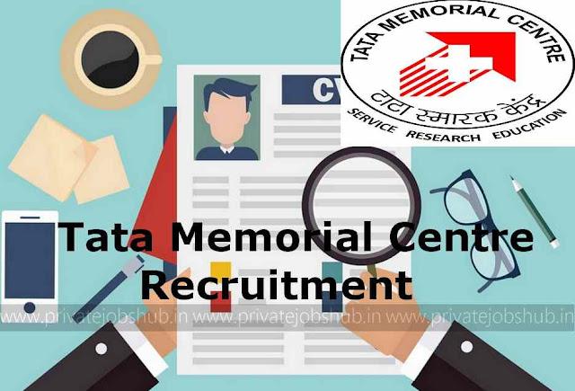 Tata Memorial Centre Recruitment