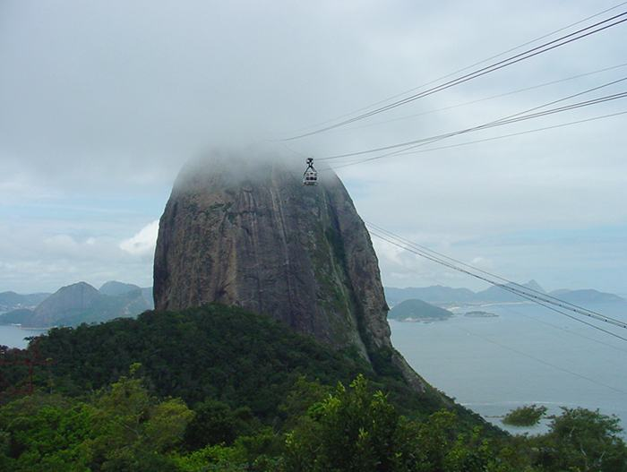 Sugarloaf Mountain In Brazil Nice N Funny