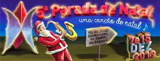 Vem aí a 5ª Parada de Natal de Registro. O maior espetáculo natalino do Vale do Ribeira