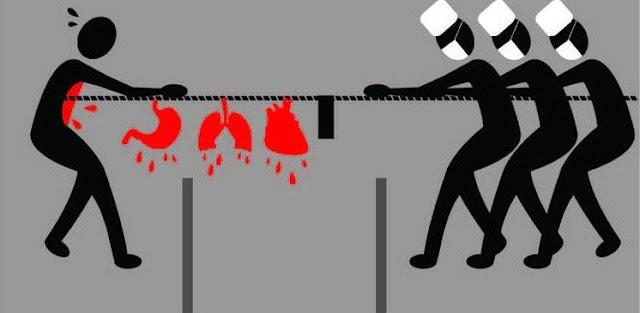 Cina: traffico di umani e dei loro organi