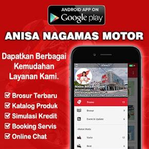 Aplikasi Android Dealer Honda Nagamas Motor Klaten