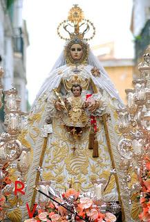 Resultado de imagen de virgen del rosario cadiz