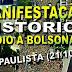 Manifestação histórica pró Bolsonaro na Avenida Paulista em São Paulo (21/10/2018)