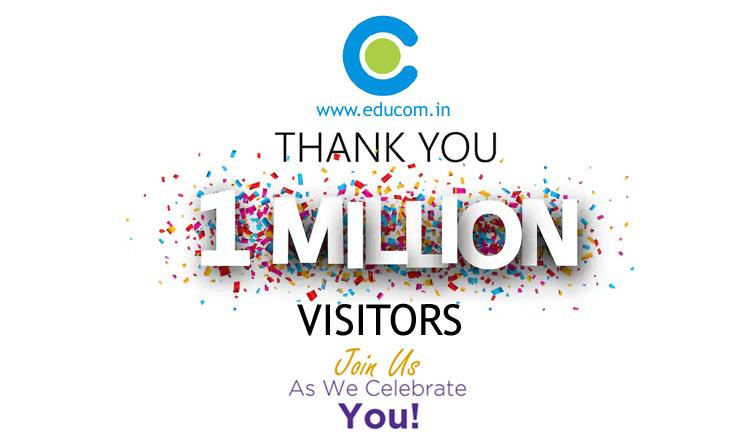 I Million  Visitor