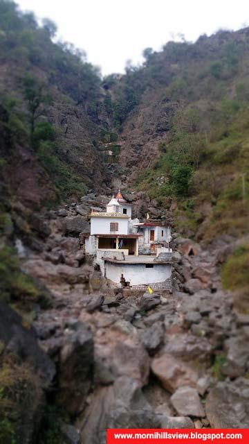 Mata Bhangayani temple in Haripurdhar (Himachal Pradesh)