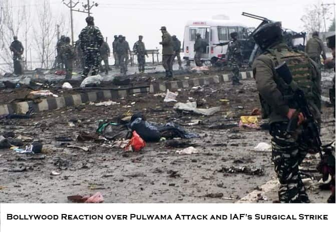 Bollywood reacted over Pulwama attack and IAF Surgical strike