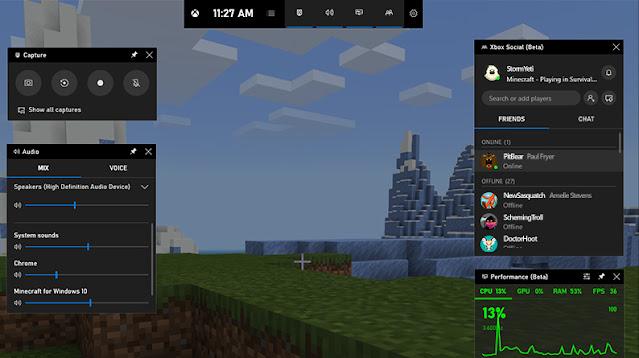 xbox Game Bar ile Ekran Videosu Alma