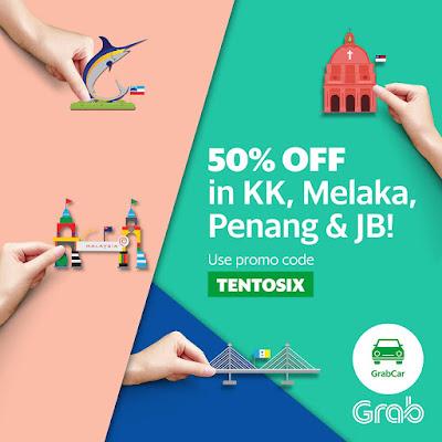 Grab Promo Code Malaysia 50% Discount GrabCar Rides