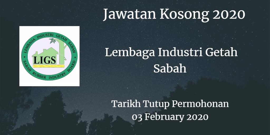 Jawatan Kosong Lembaga Industri Getah Sabah 03 February 2020