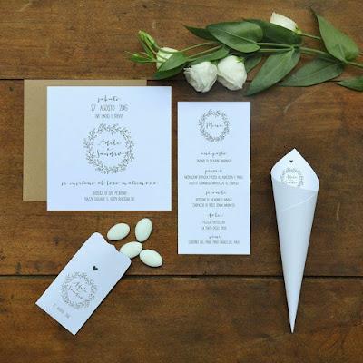grafica matrimonio tipografia online