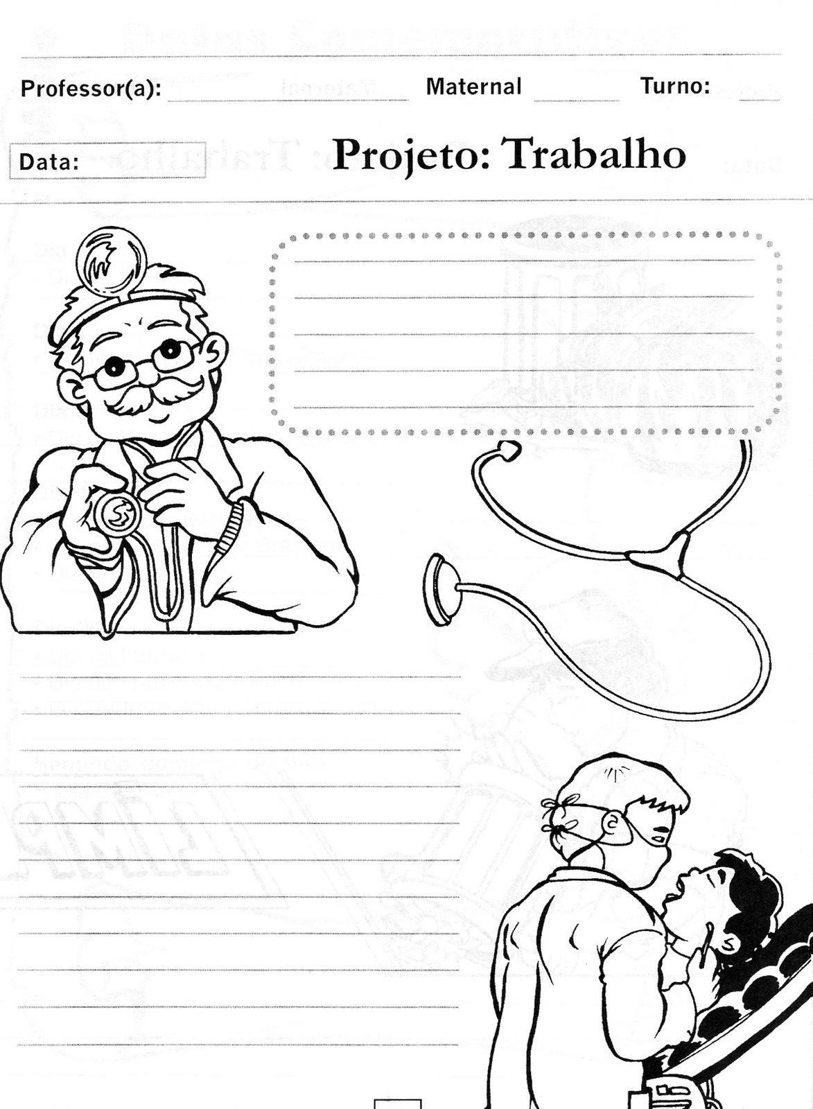 Portal do Professor do ensino Infantil: DIA DO TRABALHO