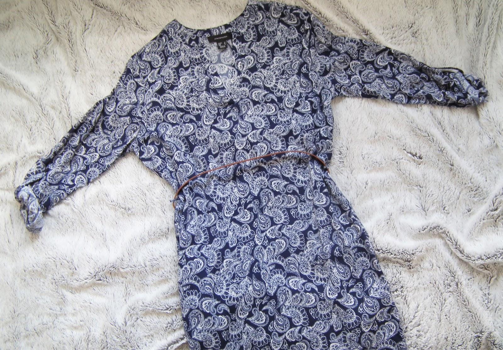 Primark Haul - Spring 2016 Print Dress with Tanned Belt