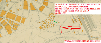Cambiamenti Via Pietro l'Eremita Via Villa Narducci