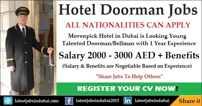 Doorman jobs in Dubai Hotels