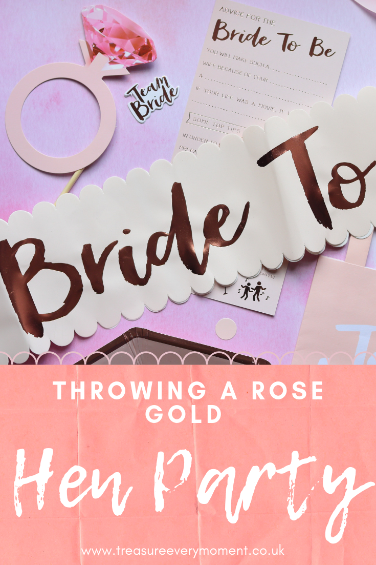 PARTY PLANNING: Throwing a Rose Gold Hen/Bachelorette Party