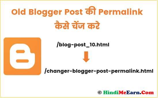 Change Blog Permalink