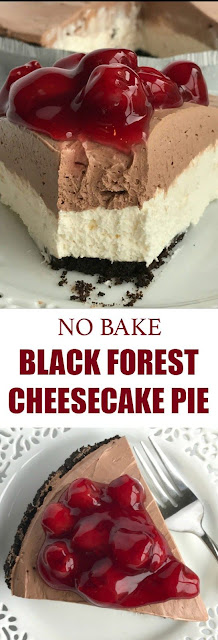 Black Forest Cheesecake Pie