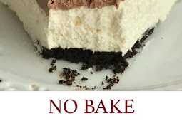 Easy No Bake Black Forest Cheesecake Pie