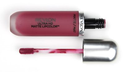 Revlon Ultra HD Matte Lip Colour in Addiction review swatch swatches
