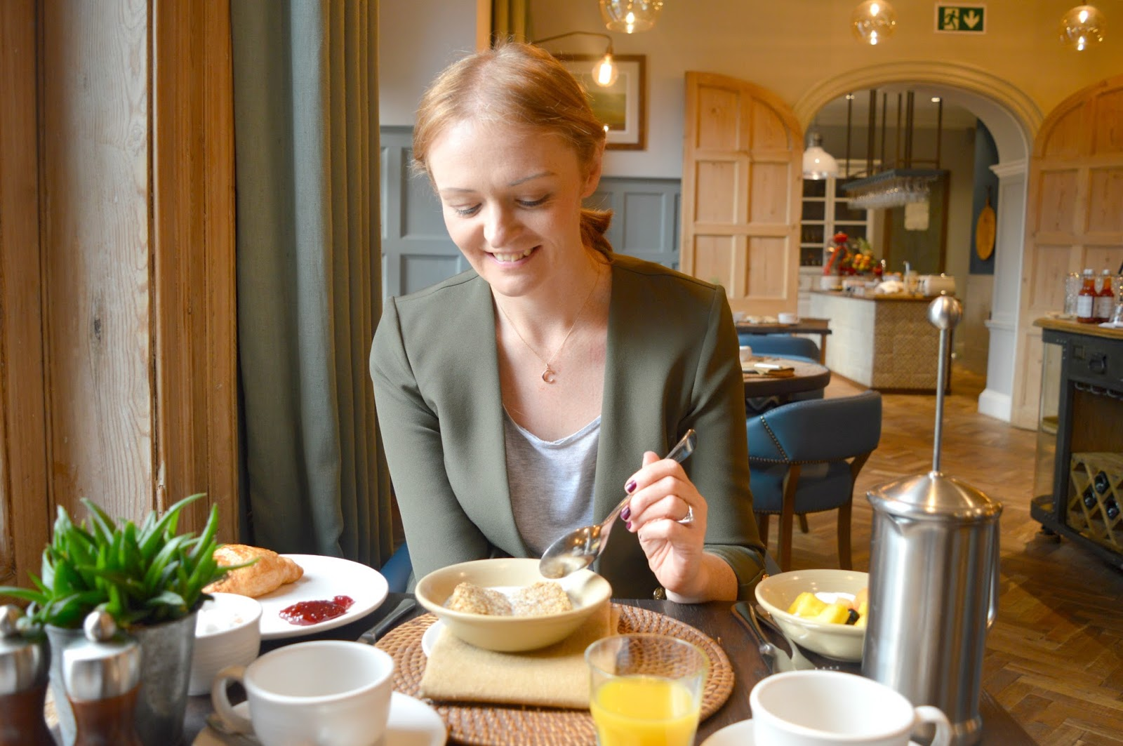 Cosy Hotel in the Cotswolds - The Painswick Continental Breakfast