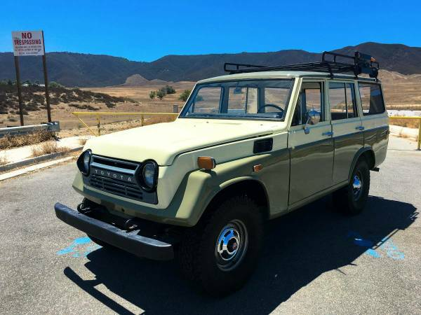 1972 FJ55 Land Cruiser For Sale