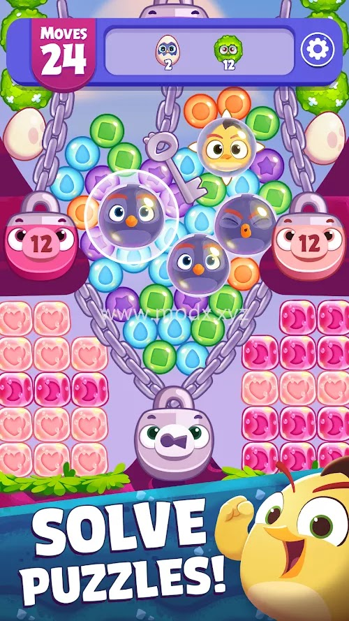 Angry Birds Dream Blast (MOD, Unlimited Money/Moves/Boosters)