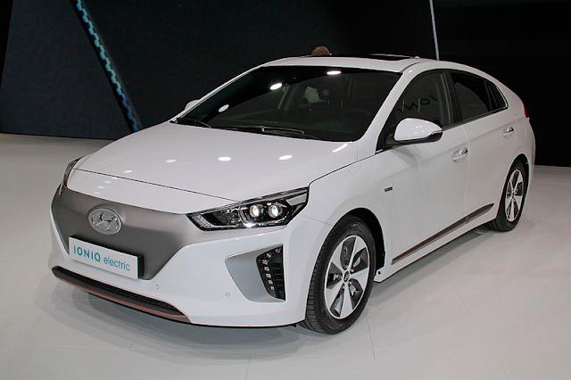 Hyundai ioniq electric car price india