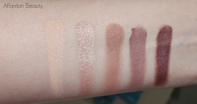 BH Cosmetics Carly Bybel Palette Swatches