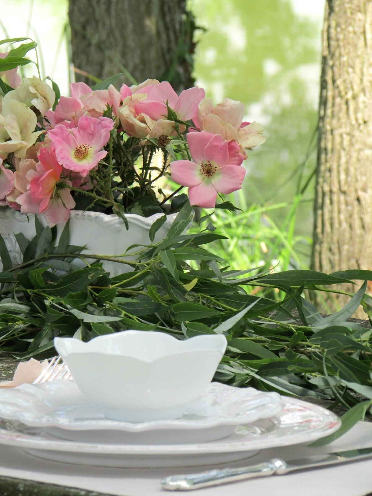 come preparare una tavola romantica