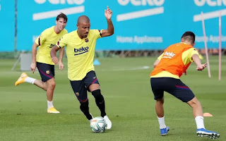 Pictures: Barcelona loanees and newcomers complete another training session