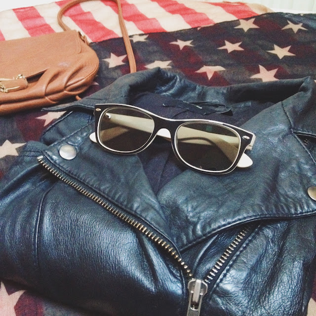 perfecto amérique lunettes de soleil