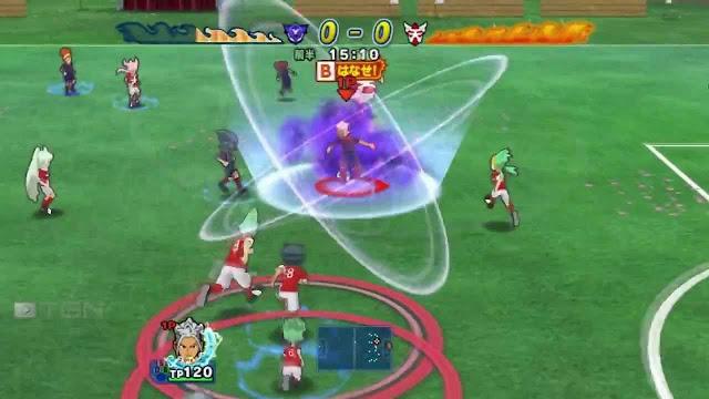 Inazuma Eleven GO Strikers Screenshot-1